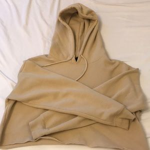 Urban Outfitters Cropped Nude Hoodie